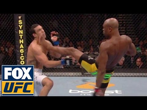 UFC ON FOX: Chuck Liddell, Anderson Silva and Anthony Johnson | Knockout Artists | UFC Top-10