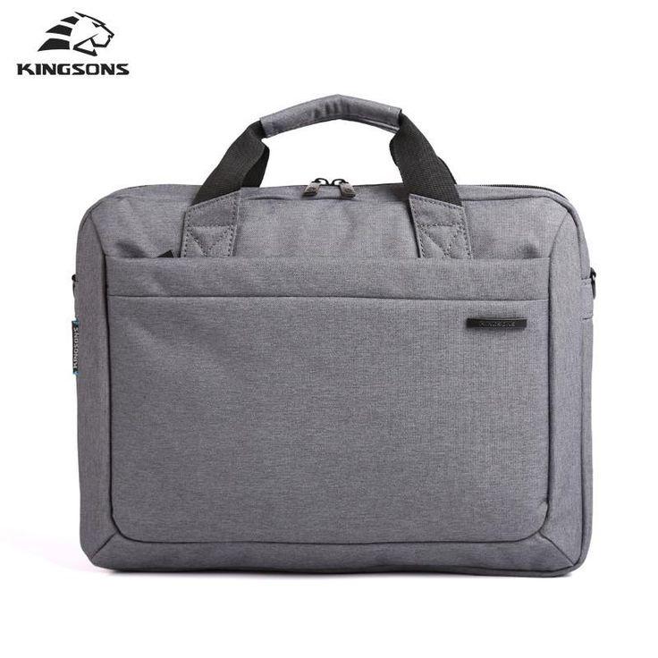 Waterproof 12-15.6'' Notebook Laptop Bag Unisex Briefcase Shoulder Messenger Bag