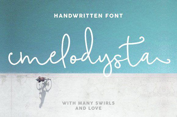 Melodysta Script by Mellow Design Lab on @creativemarket