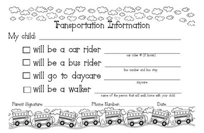 I am going to use this form for the beg of the school year...very helpful!
