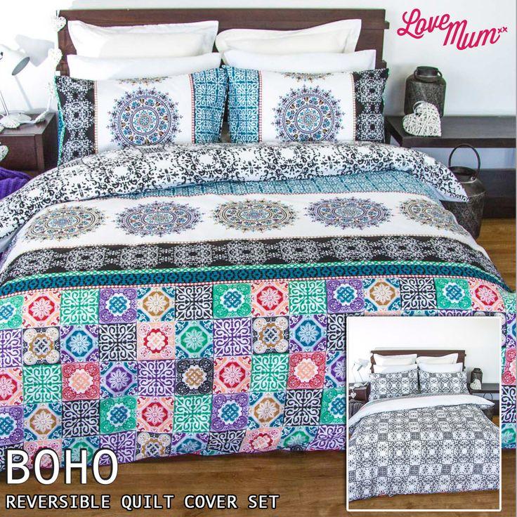 Boho - Apartmento - Quilt Cover Set - Love Mum