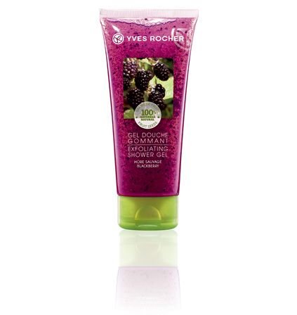 Our Blackberry - Exfoliating  Shower Gel.  Notre Gel douche gommant - Mûre sauvage.