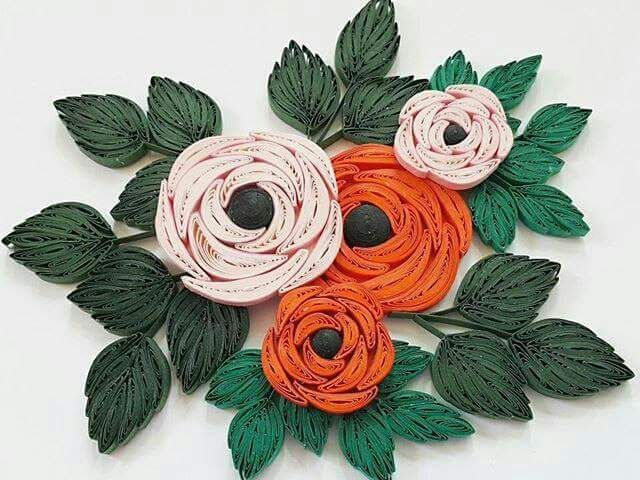 12715380 194807467547544 8458201046190069993 N Jpg 640 480 Piksel Quilling Flowersquilling Ideasquilled Rosesflower