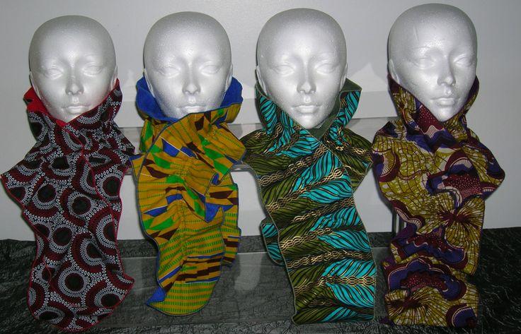 Print & fleece scarves.