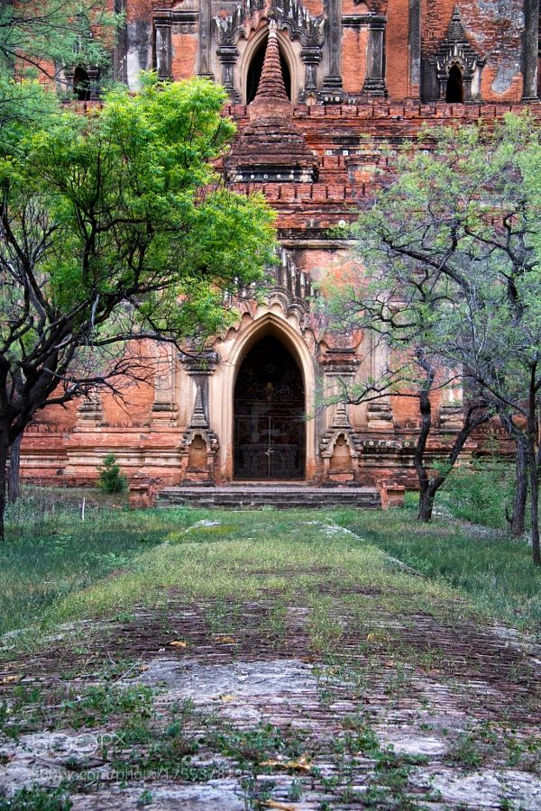 Popular on 500px : Old temple in Bagan by FabrizioMarini