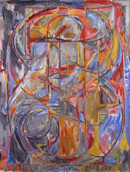 Jasper Johns 0 through 9, 1961, Oil on canvas, 54 × 45 inches Collection: The Whitney Museum of American Art, New York  #JasperJohns #JKLFA