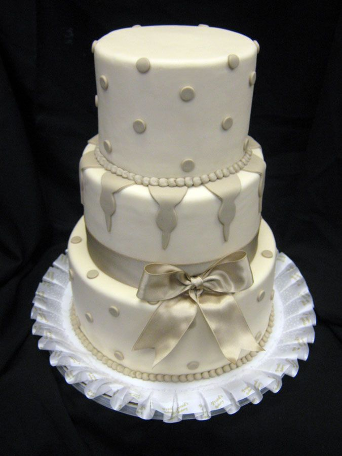 17 Best Images About Cakes Bow And Ribbon Decorations On