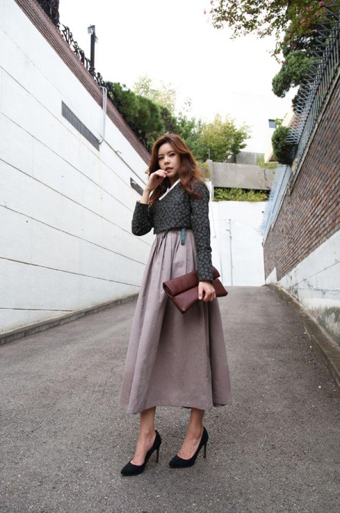 Casual hanbok wear is so cool