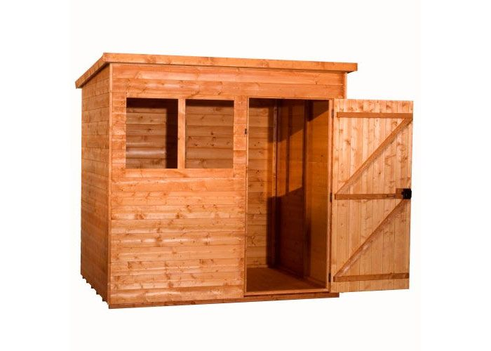 Super Pent        Description A super pent has a modern practical design in a vast range of sizes.  Different door positions available. Come and see us or ask a question     Price from £436  Dimensions 6'x4'  7'x5'  8'x6', 9'x6', 10'x6', 12'x6'  8'x8', 10'x8', 12'x8'     Options   12mm softwood cladding   16mm loglap cladding   Heavy duty framing