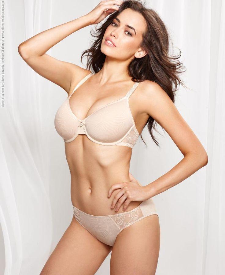 Sarah Stephens for Macys lingerie lookbook (Fall 2014) photo shoot ...
