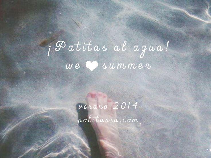 We <3 summer. Verano 2014. En Politania Magazine nos dedicamos a difundir moda y arte desde el gran Concepción. NS