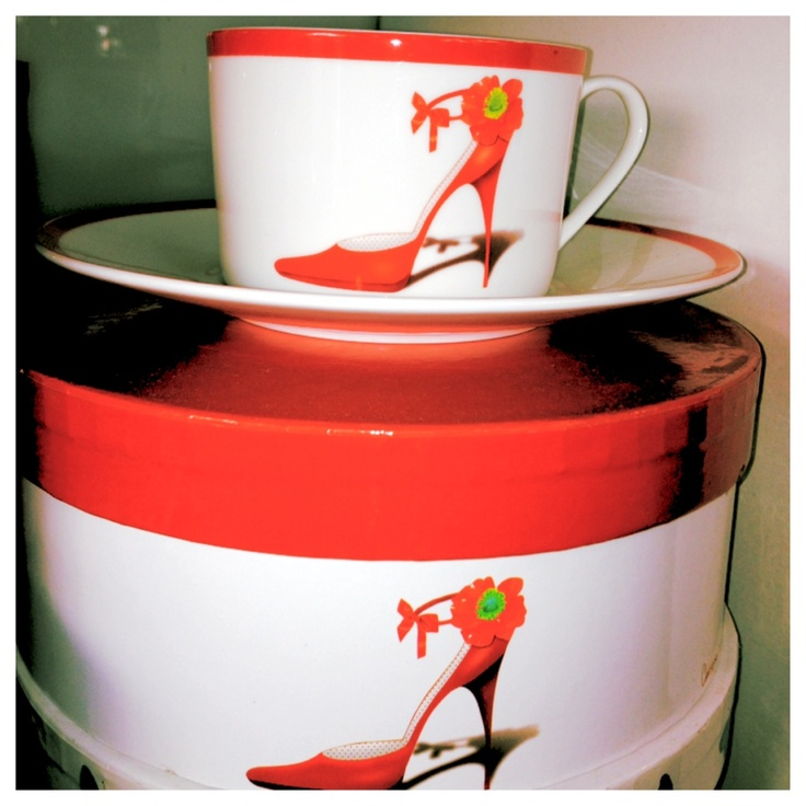 Christopher Vines Designs Cup and Saucer Set were $24.95 NOW $19.95 Limited Stock