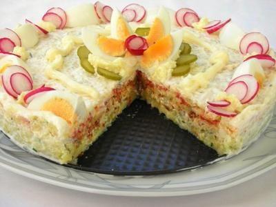 Rezept: Kartoffelsalat-Torte à la Noriana Bild Nr. 20