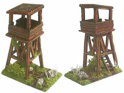 Table-edge Tower Palisade DBA Camp 15mm - Long Range Logistics