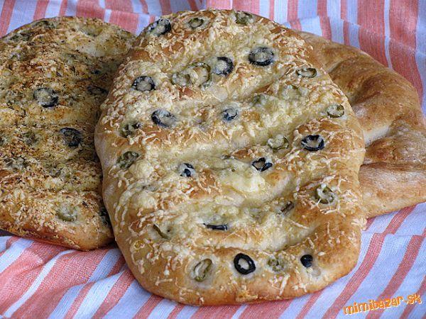 Vynikajúci syrový chlebík s chrumkavou kôrkou....