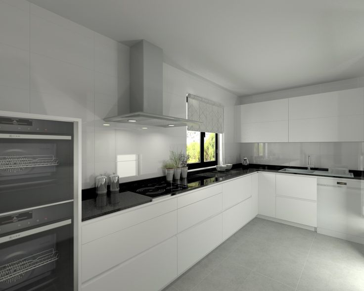 Único Ideas De Cocina De Granito Negro Blanco Patrón - Ideas de ...