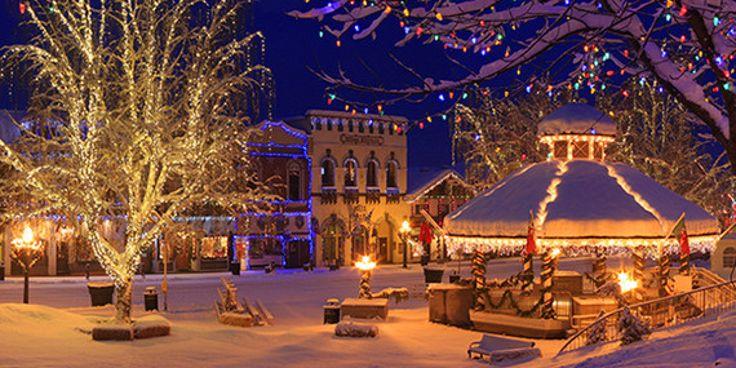 25 Unique Beautiful Christmas Scenes Ideas On Pinterest