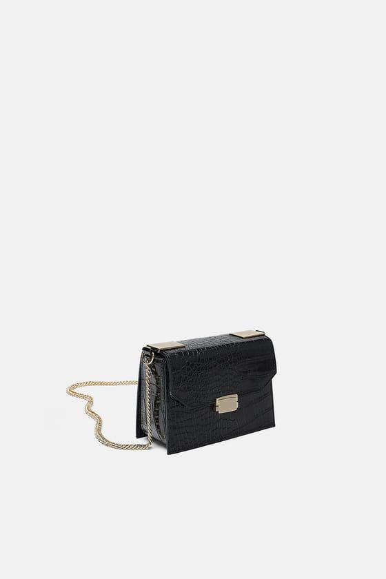 470e36d368b4 BANDOLERA COCO in 2019 | Zara | Bags, Crossbody bag, Black cross ...