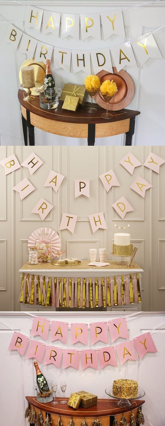 SUMMER SALE! Celebrate another year of life with our birthday bunting banner.