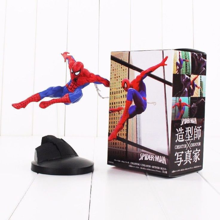 Superhero creator X Spider man marvel comic figure model cartoon toy 18 cm PVC #Unbranded