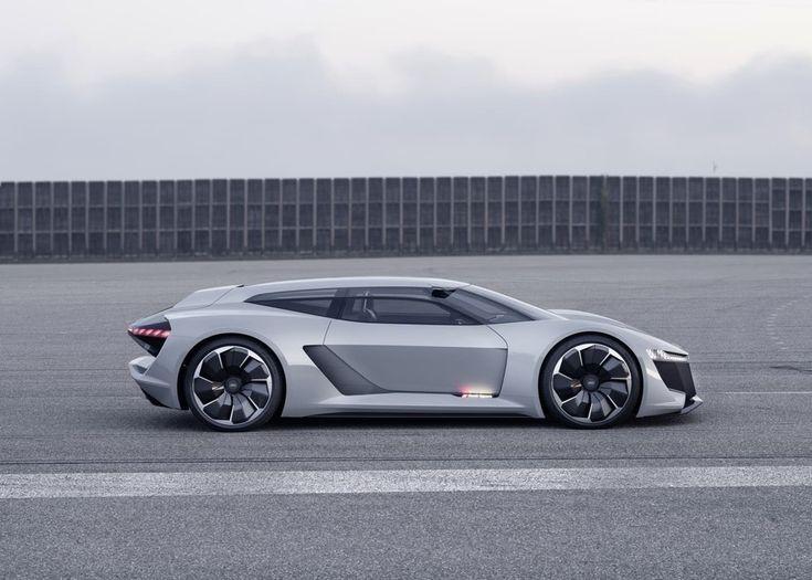 Sorpresa en Pebble Seashore: Audi PB18 e-tron idea automobile, un superdeportivo al margen de la conducción autónoma