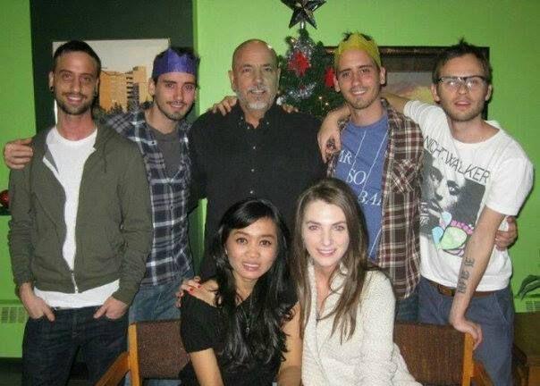 THE MOFFATTS ... Dave , Bob, Dad Frank , Clint , Scott , Kak Yuni , Amanda