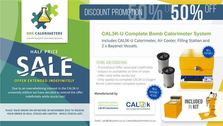 CAL3K-U University Edition - Half Price Sale - DDS CALORIMETERS