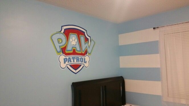 Paw patrol bedroom