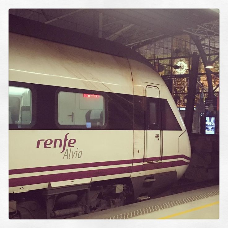 6h30 in #Alvia from #Bilbao #Abando to #Barcelona #Sants by @renfe | #smartchitect #smartcity #smartcities #architecture #urbanplanning #humanity #sustainability #efficiency #train #travel #mobility #publictransport