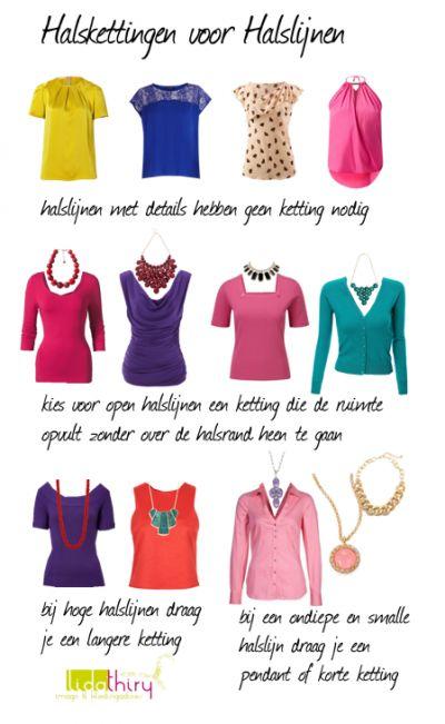 Halskettingen voor je halslijnen