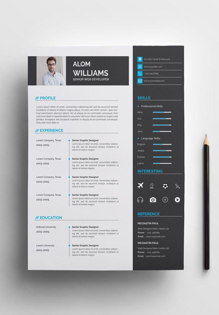 Alom Williams Resume Template 76694 Resume template