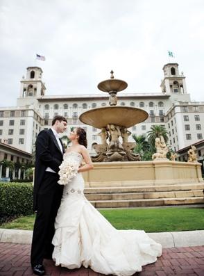 The Breakers Palm Beach Wedding Photo Chris Joriann Photography
