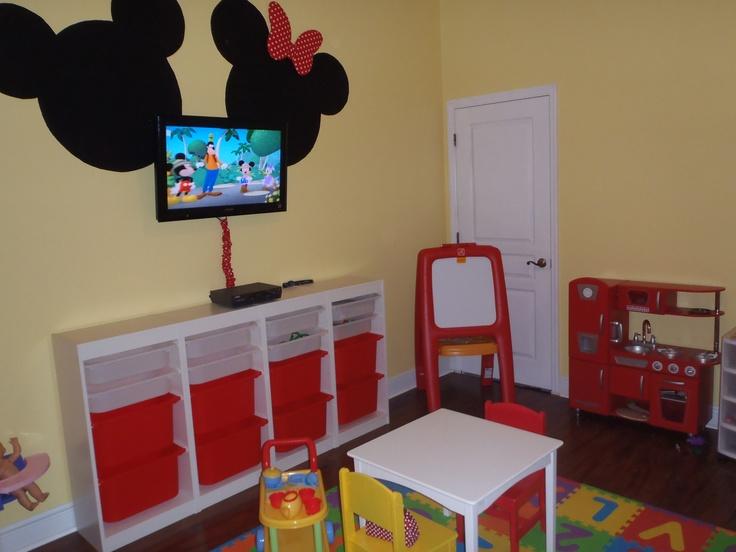 Minnie Mickey Mouse Playroom