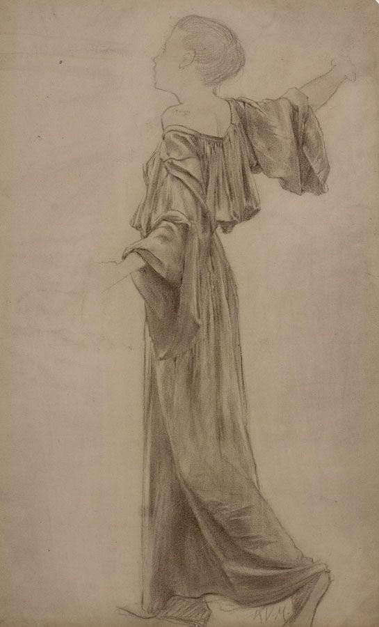 Karel Vítězslav Mašek - Girl in long dress