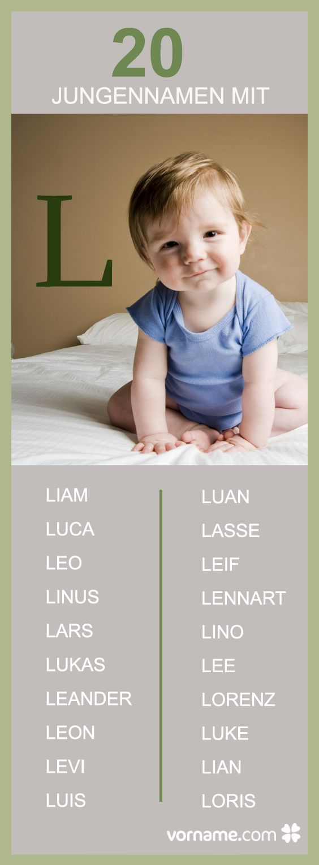 Es wird ein Junge und Du bist auf der Suche nach einem passenden Namen mit L? Klicke Dich durch unsere Liste und finde Deinen Favorit!