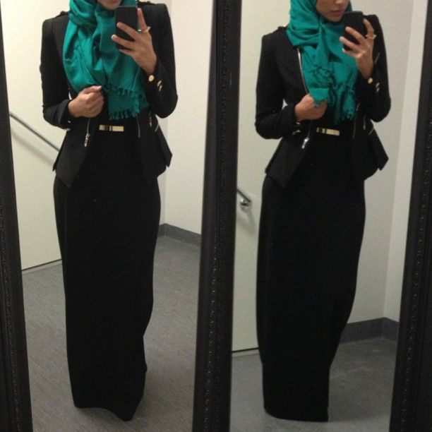 Professional looking Hijab outfits