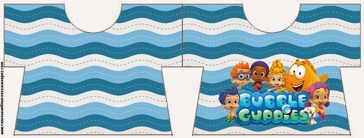 Bubble Guppies Free Printable Invitations.