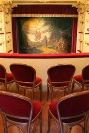 Il #sipario storico del #Teatro Annibal Caro di #Civitanova #Marche