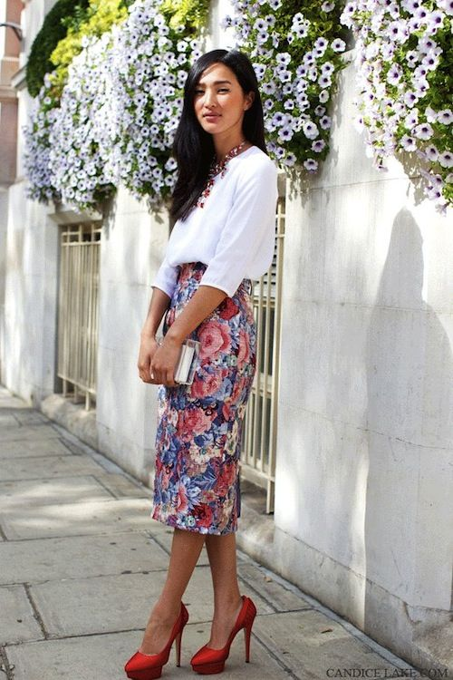 Женская уличная мода лето