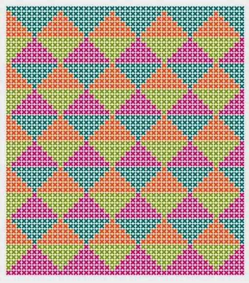 Hoje explicamos-lhe passo a passo como fazer esta almofada de croché com a técnica de Jacquard em Natura XL Just Cotton. Material ...