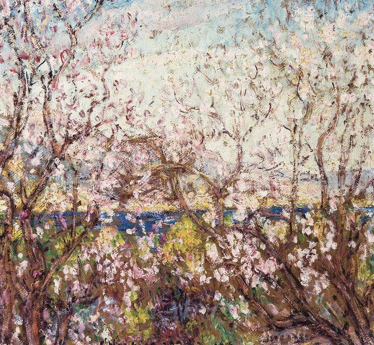 George Morren (1868-1941, Begium)  Spring (Printemps), 1919