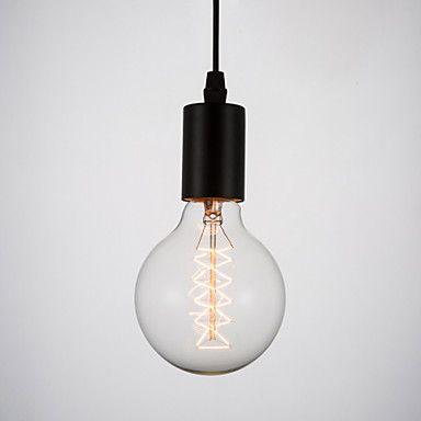 40W E27 Edison Retro Light Bulb ST64 G95(220-240V)