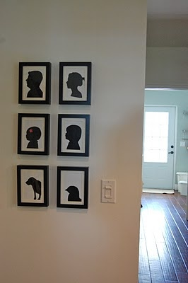 Family silhouettes: Crafts Ideas, Silhouette Machine, Great Ideas, Families Silhouette