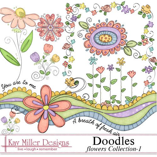 Kay Miller Designs...cute doodles
