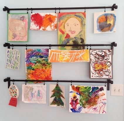 With the end of the school year comes art work and projects. Here's tips on how …