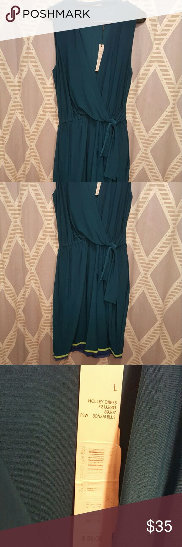 T. Tahari NWT Holley Dress NwT very soft and stretchy material. Pretty color T Tahari Dresses Midi