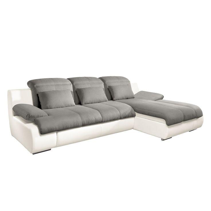 Die besten 25+ Ecksofa weiß grau Ideen auf Pinterest Wohnzimmer - wohnzimmer couch weis grau