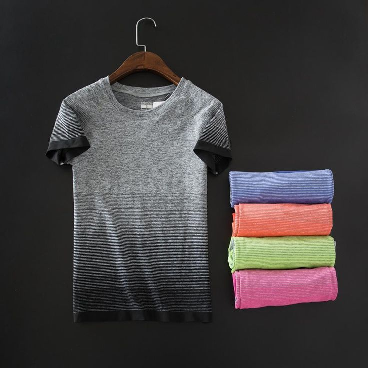 High Quality women fitness Tee Summer 2016 New Sports short sleeve T-shirt Female Gym Running Quick Dry Lady shirts