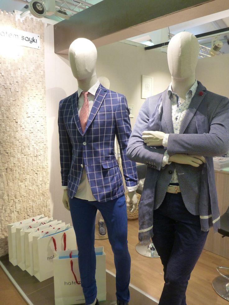 Hatem Sayki blazers in Pitti Uomo 86
