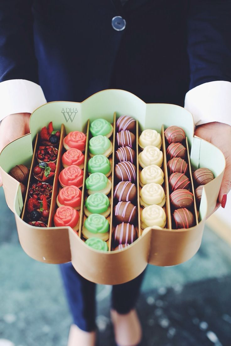 Let a box of chocolates show your love to your partner. Make sure it has all his/her favorites.